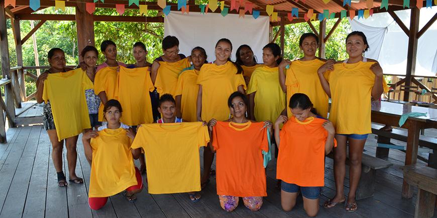 Projeto Social Alinhavando o Futuro - RDS Rio Negro - AM