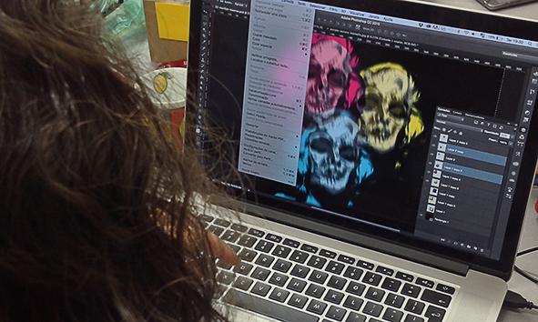 Curso de estamparia digital usando ferramentas do photoshop