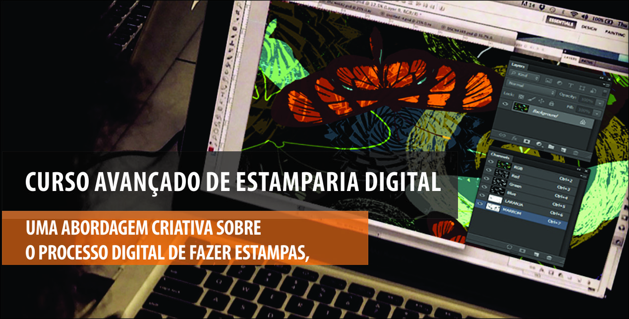 CURSO DE ESTAMPARIA DIGITAL AVANÇADO